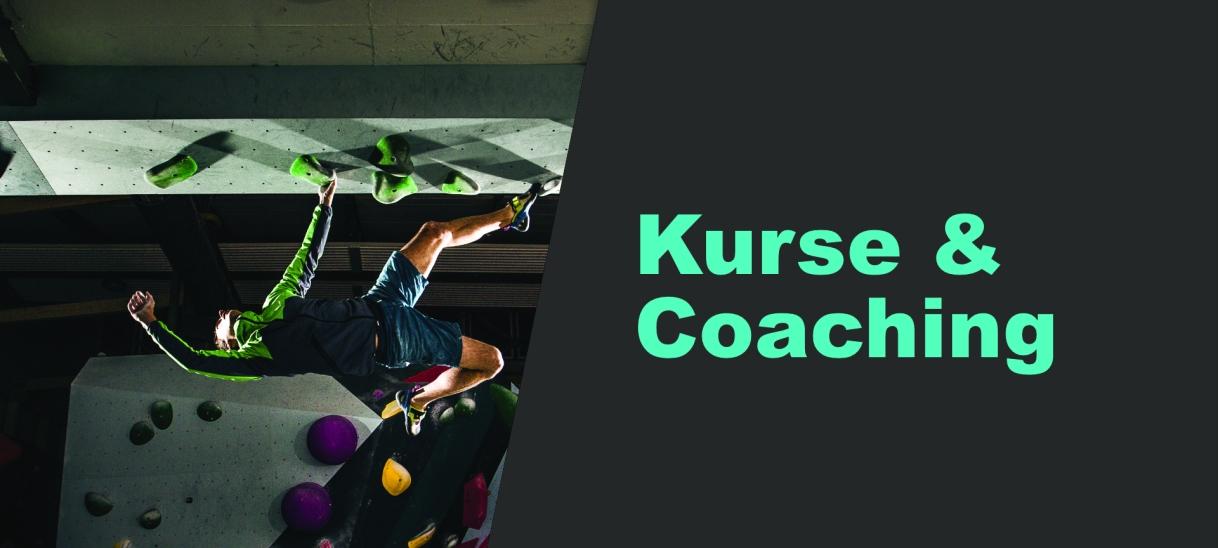 Kletterkurse und Coaching