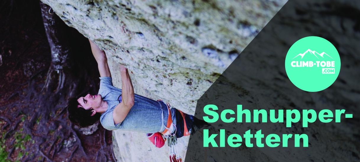 Schnupper Klettern Seil