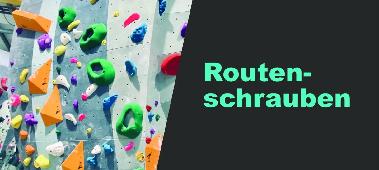 Boulder- und Routenschrauben
